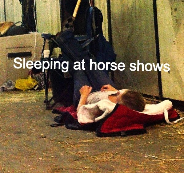 7 Creative Ways to Get Your Zzz's at a Horse Show