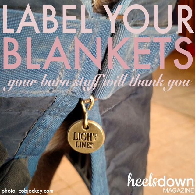 Label Your Blankets