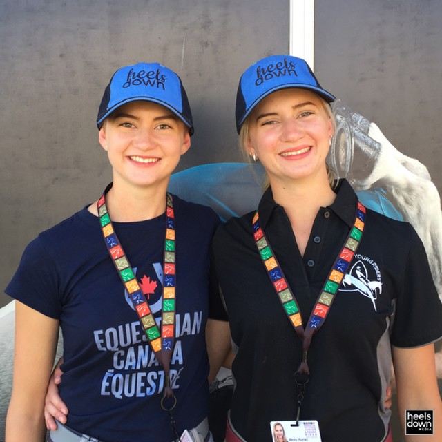 Cool Stories of NAJYRC: The Ontario Twins, a Friesian and a Mennonite Horse