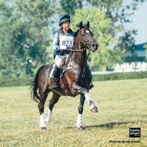 Cross-Country Horse - photo by Nicole Schultz