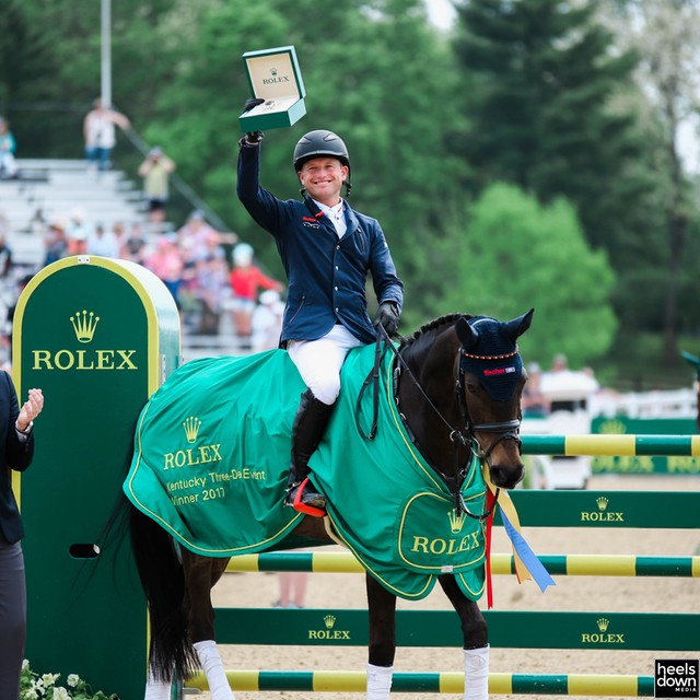 Heels Down Rewind: Michael Jung Makes Three-peat History at Rolex Kentucky