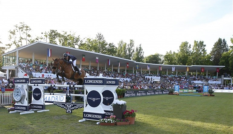 Heels Down Rewind: Kent Farrington Is a Man on Fire in Madrid