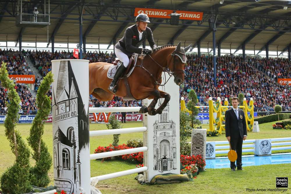 The Quiet Winners of Aachen: Gregory Wathelet and Luciana Diniz Finish First, Second in Rolex Grand Prix with Peace and Calm