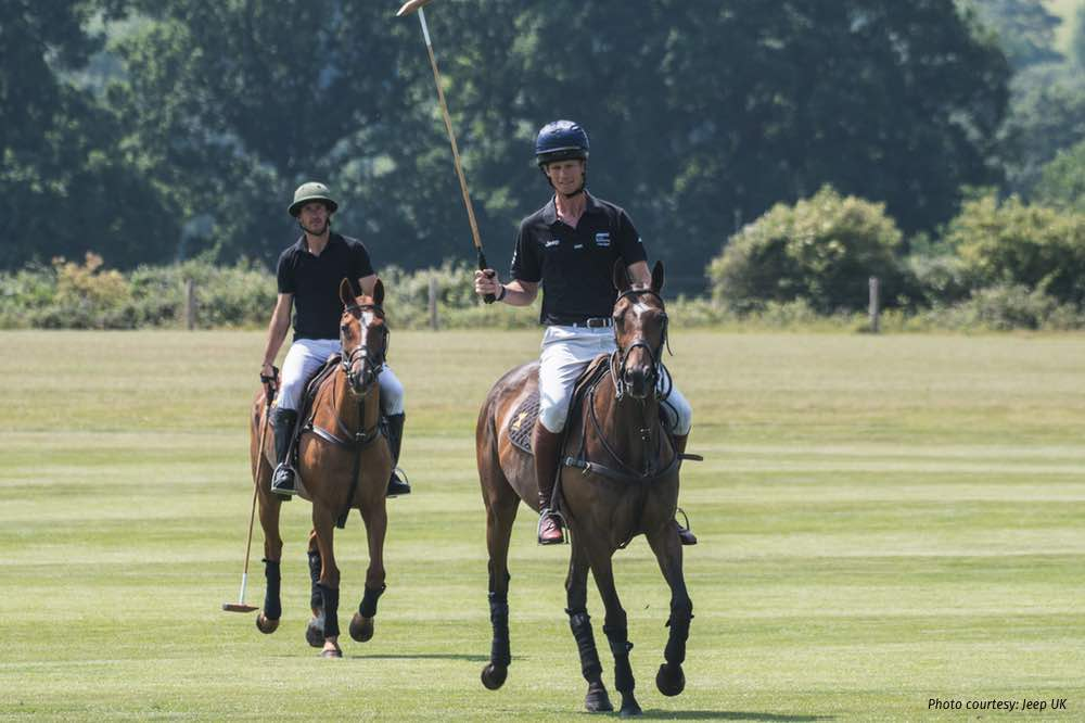 William Fox-Pitt and Polo Player Nic Roldan Swap Sports