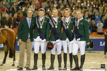 """""""The Irish Do Better as Underdogs"""": Team Ireland Wins Gold at European Show Jumping Championships"""