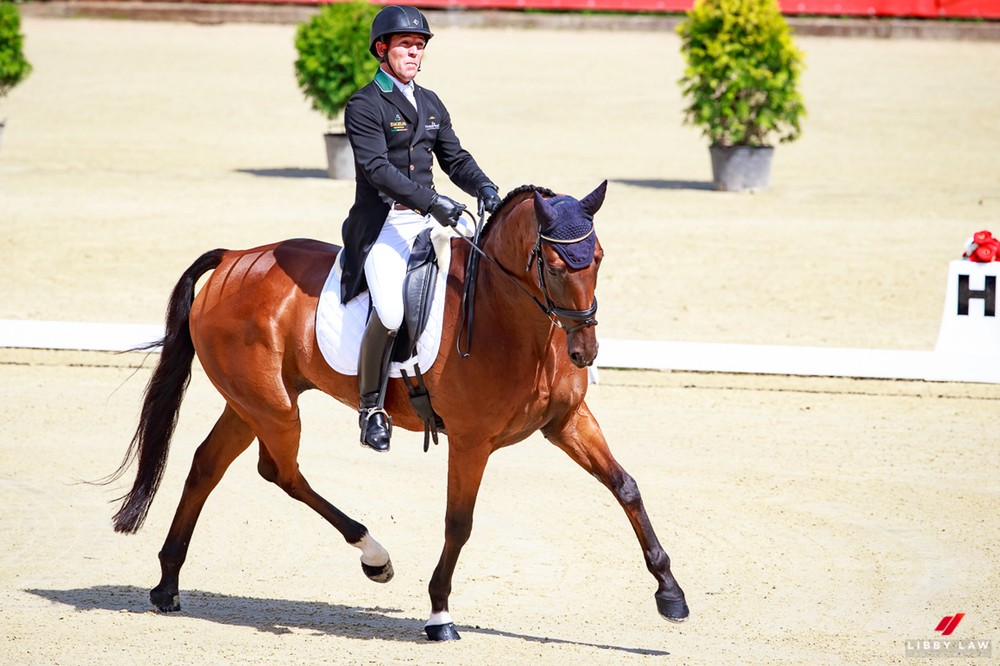 Germans Set World Record Following Dressage at European Eventing Championships
