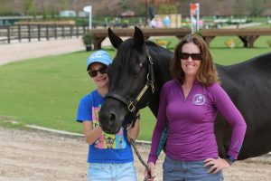 Just Vet Wrap It: Jen Garutti Defines 'Eventer Tough' with Pony Mare at American Eventing Championships