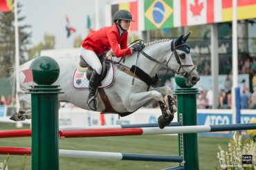 The Future of Show Jumping Is a Bending Line