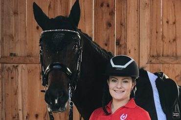 Ex-Jumper Meets Ex-Event Horse, They Forge Dressage Partnership: RF Cosima and Allie Youngdale