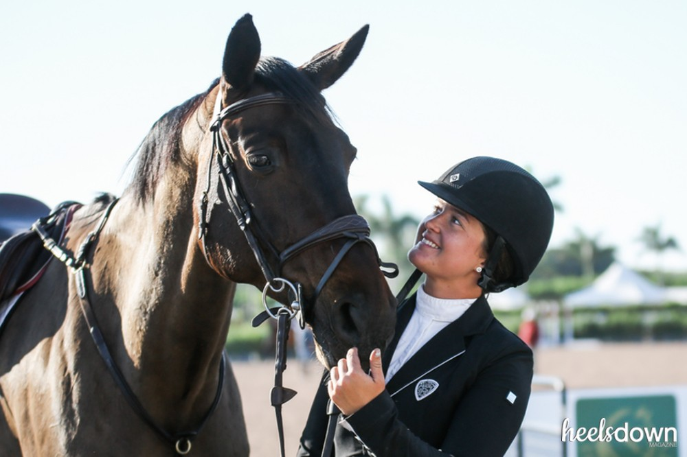 An Eventer at WEF, Riding a Jumper Owned by a Dressage Rider