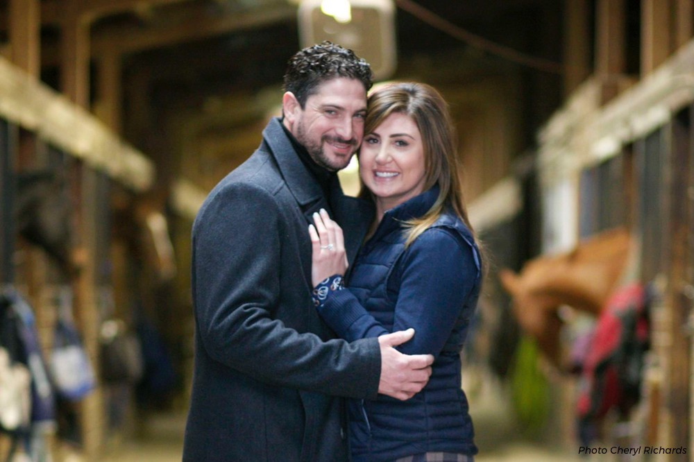 Ring in a (Riding) Ring: An Equestrian Fairytale Engagement