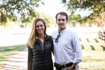 Dressage and Show Jumping Love Story: Mary Bahniuk Lauritsen and James Fairclough