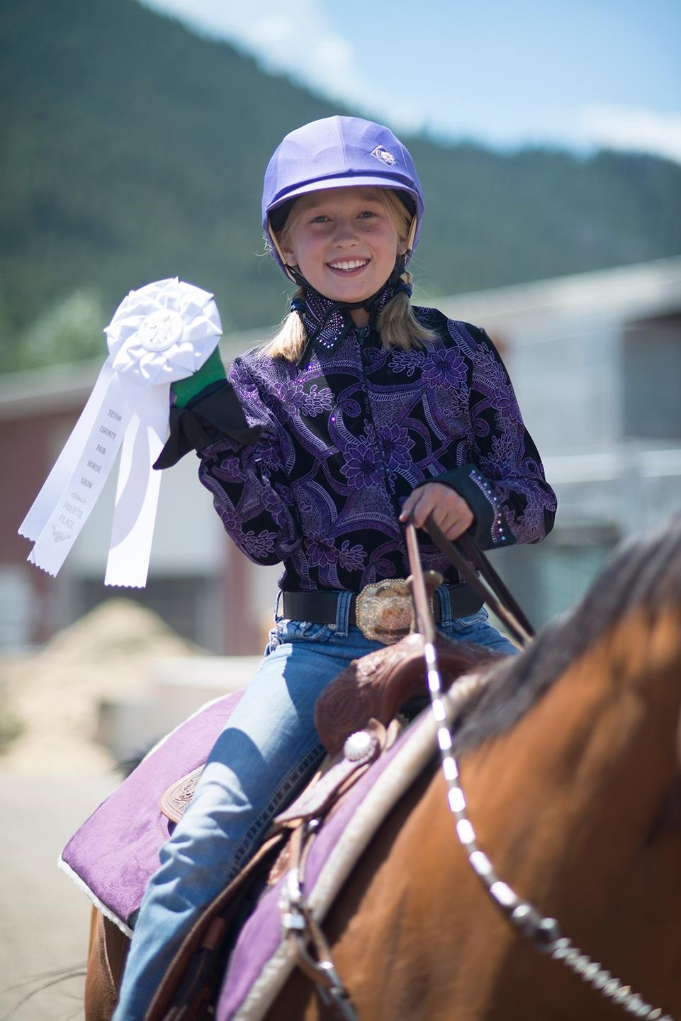 From Barrel Racing to Devon Champion: Maggie Hill's Multi-Disciplinary Approach Pays Off