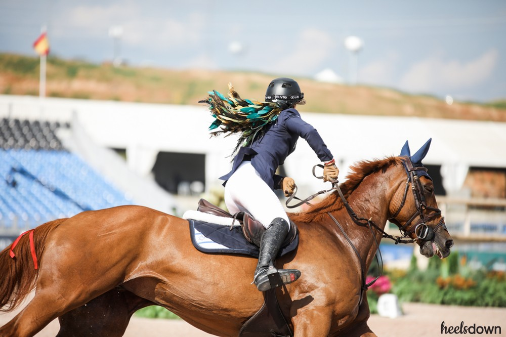 Rebel With A Cause: Show Jumper Danielle Goldstein Does It Her Own Way