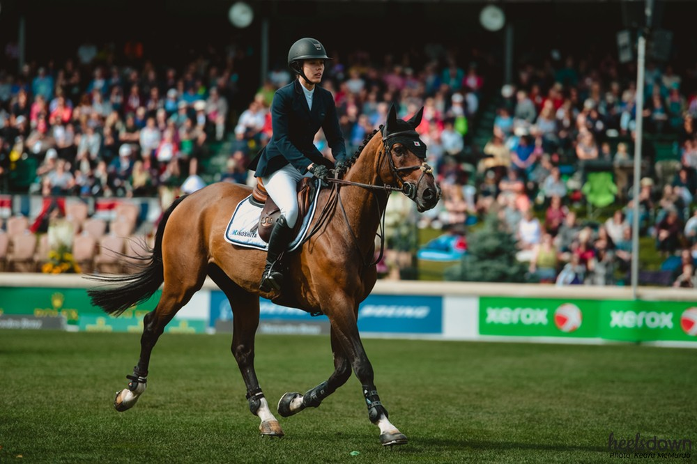 "Karen Polle To Represent Japan At WEG On Her ""Horse Of A Lifetime"""