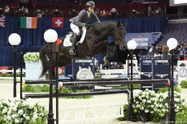 A Girl, A Horse, and a Neck Strap - Bridleless at the Washington International Horse Show