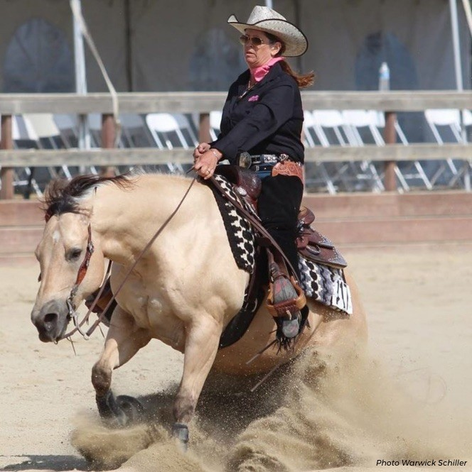 What English Riders Can Learn From WEG Reining Contender Robyn Schiller