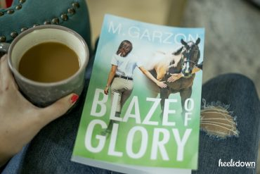 "Heels Down Book Club: Reviewing M. Garzon's ""Blaze of Glory"""