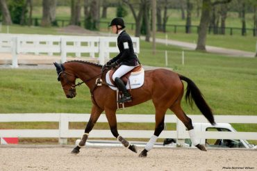 Even George Morris Does It  - Dressage in a Jumping Saddle