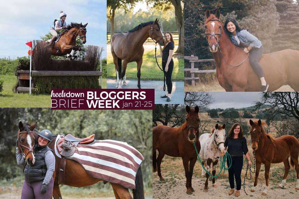 Don't Miss Out On The Fun of Bloggers Week, Only In the Heels Down Brief
