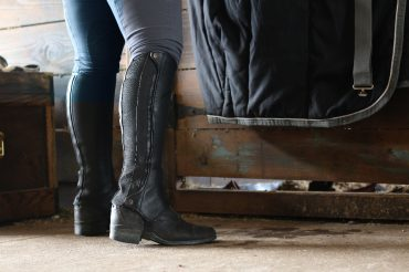 Half Chaps vs. Tall Boots: I Choose The Chaps